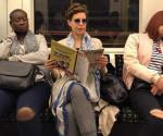 Captan a esposa de Javier Duarte en Metro de Londres