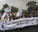 ´¡Fuera porros!´ pide la Marcha del Silencio