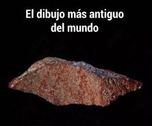 Hallan en Sudáfrica el dibujo más antiguo del mundo
