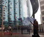 Mueren 2 personas en China por tifón