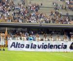 Pumas pide alto a la violencia en Ciudad Universitaria