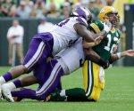 Se le escapa triunfo a los Vikingos y empatan con los Packers