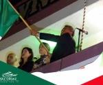 Festejan el Grito de Independencia. Encabeza ceremonia Jorge Navarro