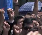 Capitalinos guardan minuto de silencio por víctimas del 19S