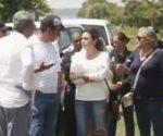 Familiares de desaparecidos ingresan a zona de fosas en Veracruz