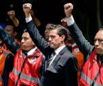 Peña Nieto participa en Macrosimulacro