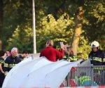 Policía holandesa: 4 niños mueren en accidente entre tren y bicicleta