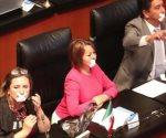 Abandonan PAN y PRI sesión en el Senado
