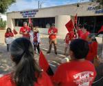 Manifestación contra Cuéllar. Activistas exponen su repulsa