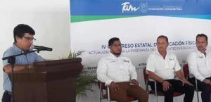 Inicia en Reynosa Congreso Estatal de Educación Física