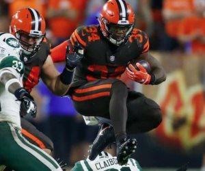 Browns vencen a los Jets de NY