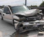 Reynosa: Pérdidas materiales deja accidente vial