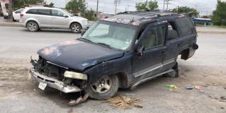 Resultan 5 lesionados en choque en carretera a San Fernando