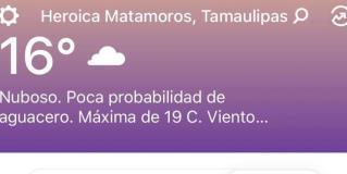 Pronostican un fin de semana pasado por agua en Tamaulipas