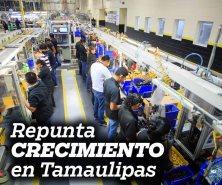Repunta crecimiento en Tamaulipas: Inegi. Destaca en lugar seis del país