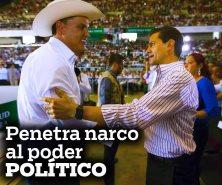 Penetra narco al poder político
