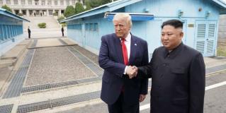 El encuentro de Donald Trump y Kim Jong-un en la frontera de las dos Coreas