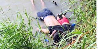 Mueren ahogados padre e hija en el río Bravo