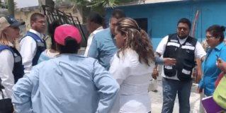 Supervisan acciones en colonias afectadas