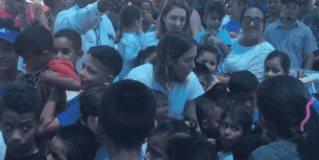 Lleva presidenta de DIF estatal ayuda a migrantes