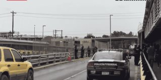 Blindan por aire y tierra puente de Brownsville