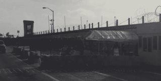 Amurallan el puente de Reynosa-Hidalgo