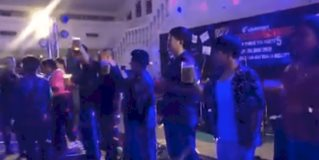 Joven muere después de beber un tarro de cerveza en una competencia