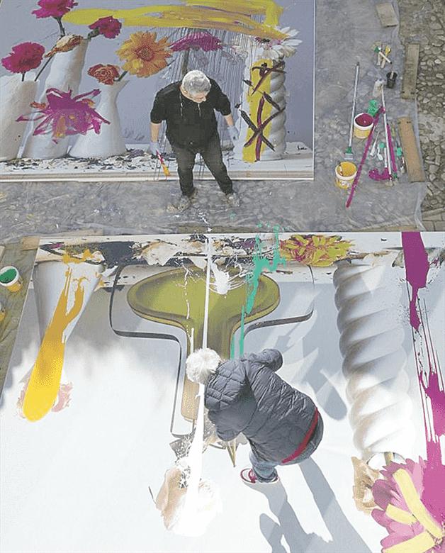 Almodóvar se estrena como pintor