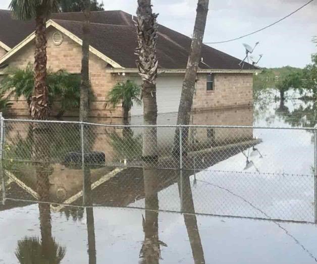 A más de 10 días de tormenta una escuela sigue inundada
