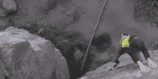 Cuando la vida depende de un agarre en la roca