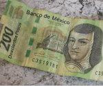 Alertan por circulación de billetes de 200 falsos
