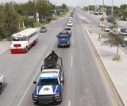 Despliegan fuerte operativo de seguridad en servicios fúnebres de familia asesinada
