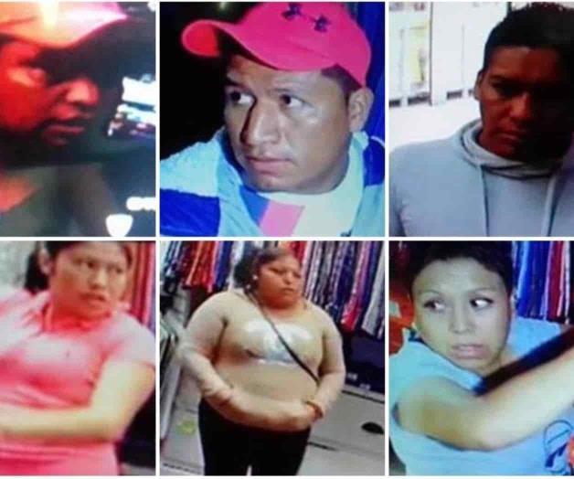 Intercambian fotos y videos de ladrones