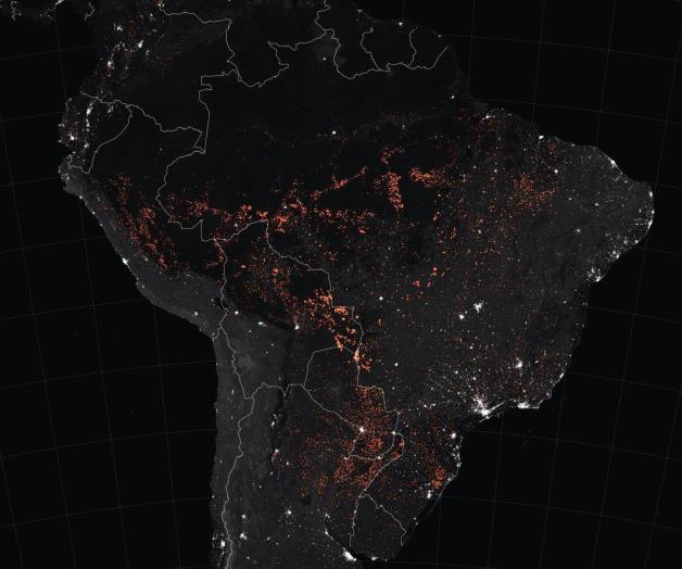 Los incendios en la Amazonia derriten los glaciares andinos