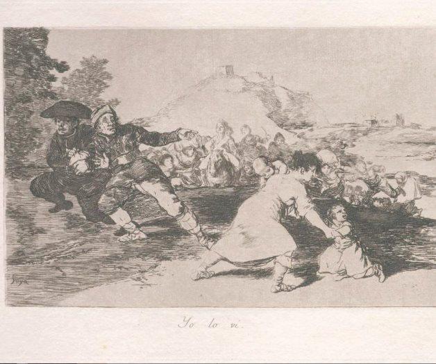 La tormenta de Goya