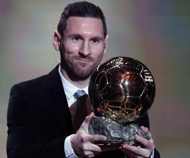 Conquista Messi su sexto Balón de Oro
