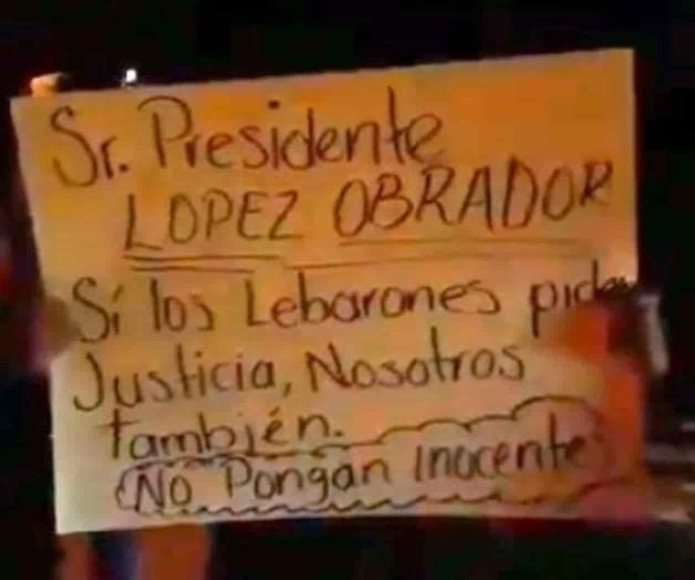 Retienen convoy de fgr y piden liberar detenidos del caso lebaron
