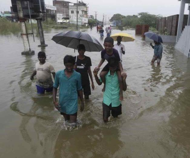 Mueren 25 personas por fuertes aguaceros en la India