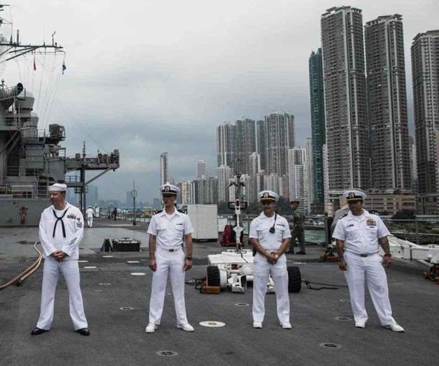 China prohíbe a buques de guerra de EUA hacer escala en Hong Kong