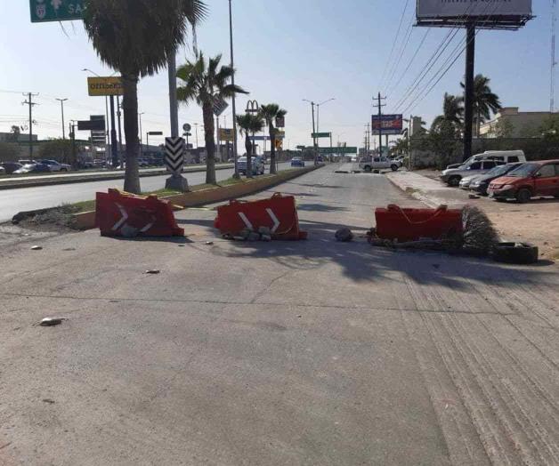 Cierran tramo en el Hidalgo