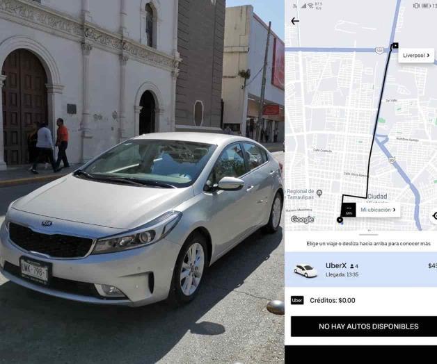 Llega Uber a Tampico