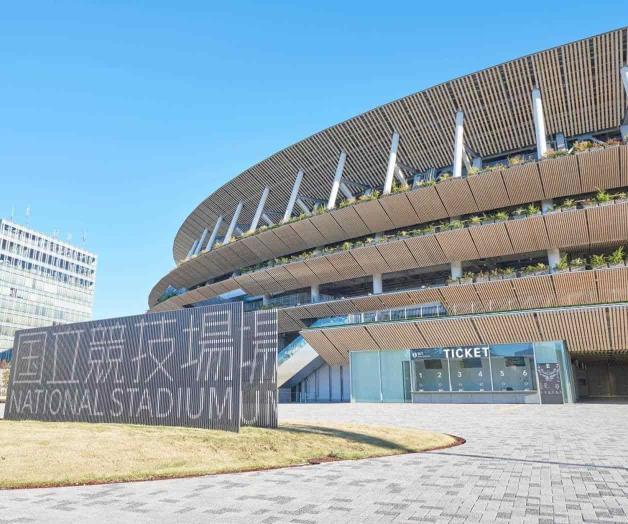 Concluido Estadio Olímpico de Tokio, a 8 meses de los Juegos