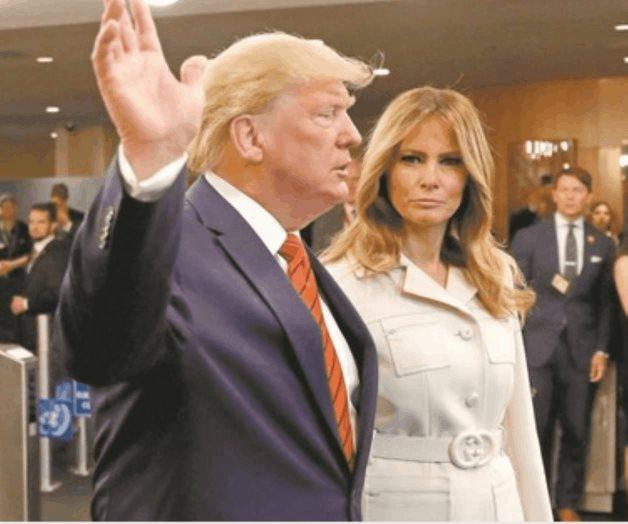 Melania y Trump duermen y viven separados dentro de la Casa Blanca
