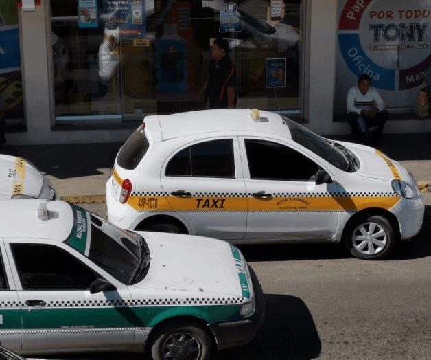 Uber, no  inmuta a taxistas