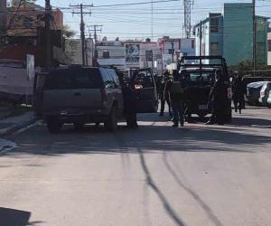 Deja persecución en La Cañada saldo de un sujeto herido de bala