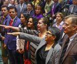 Buenrostro rinde protesta como nueva jefa del SAT