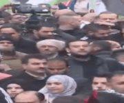 Rechazo al plan de paz de Donald Trump en las calles de Ramala