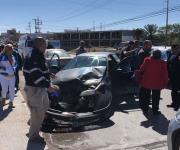 Tres lesionadas en accidente vial; una de ellas embarazada