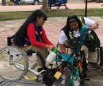 Reparan sillas de ruedas en campaña de apoyo social