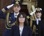 Asume puesto 1er. presidenta en la historia de Grecia
